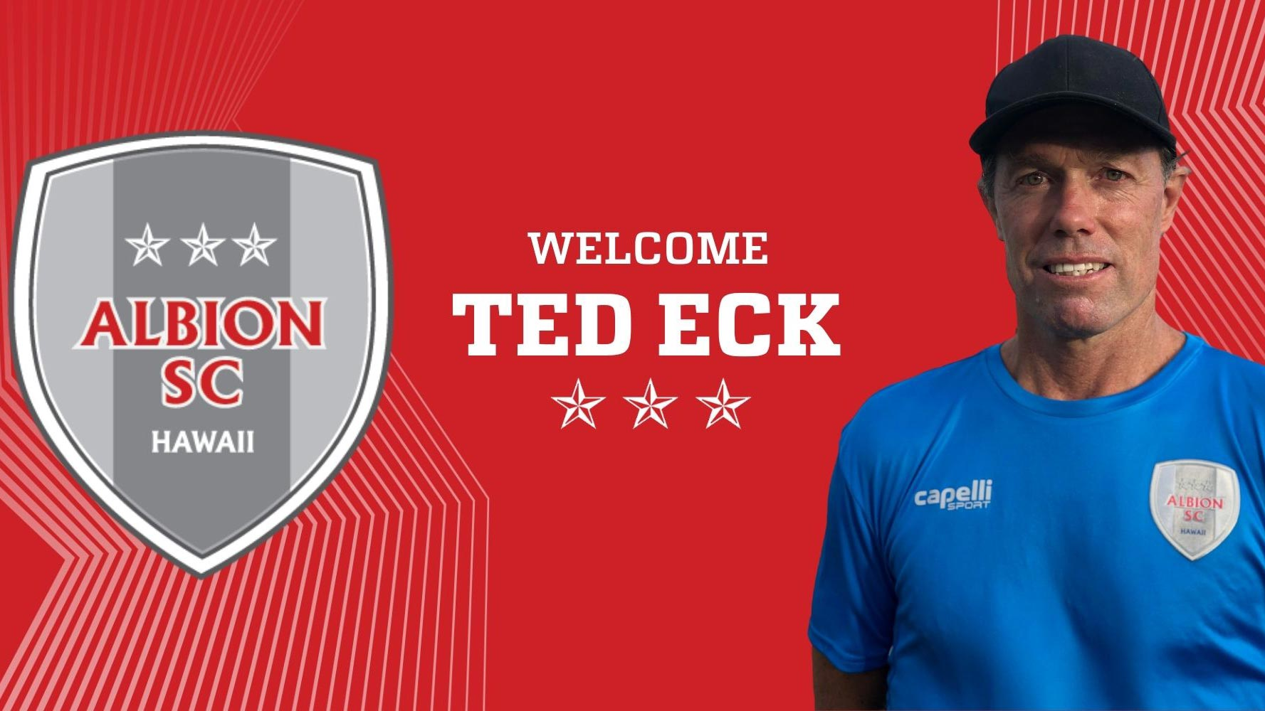 ALBION Hawaii Welcomes Former MLS Assistant Coach Ted Eck